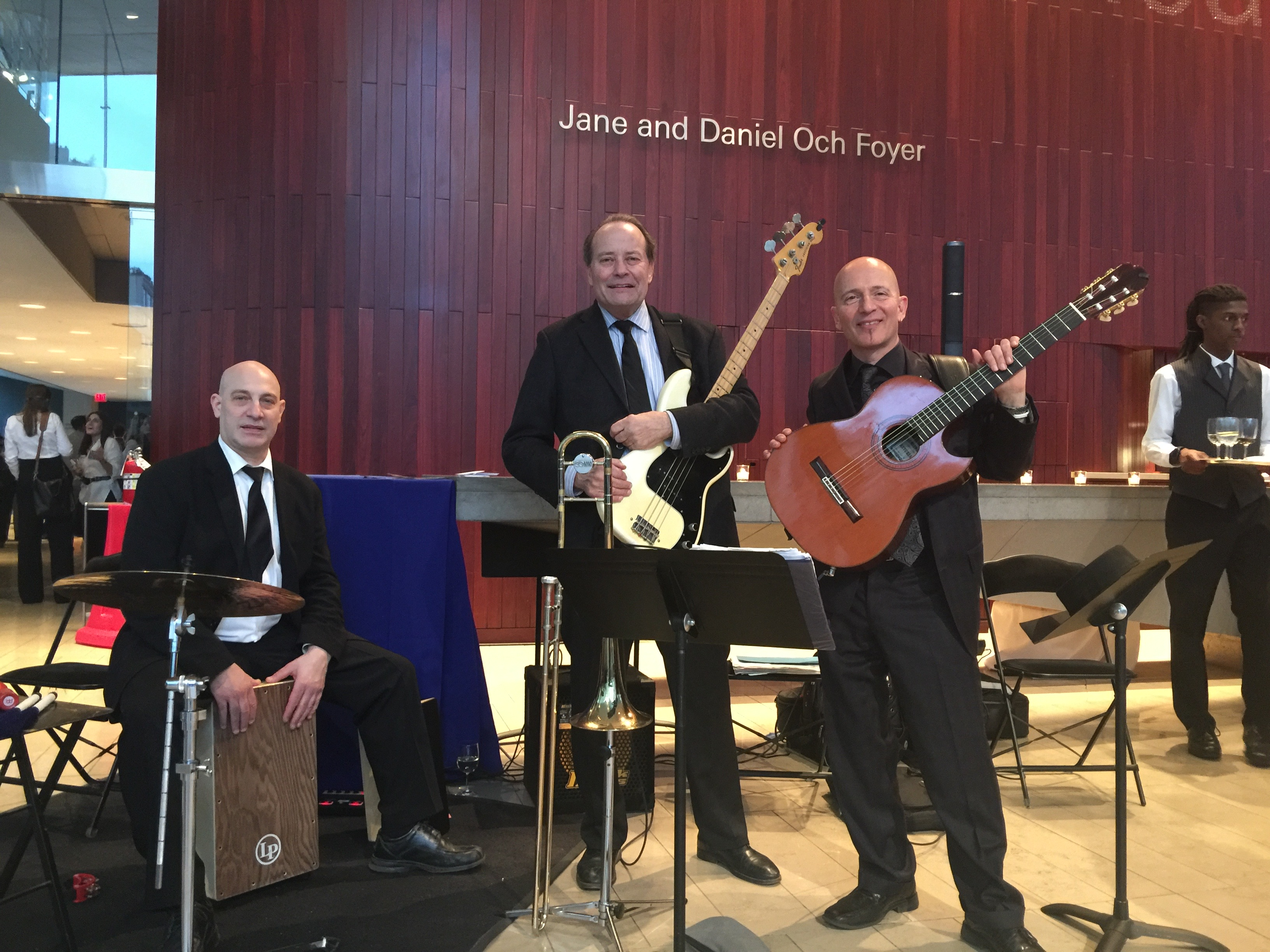 MCM trio at Alice Tully Hall
