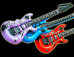 """WP29M – 12x 42"""" assorted blow up guitars"""